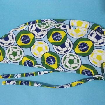 gorro coleção bandeira do brasil