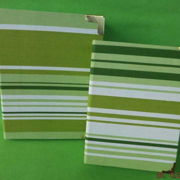 Kit Caixa e Álbum de fotos Verde