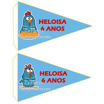 Bandeirinha Docinho,Lanchinhos