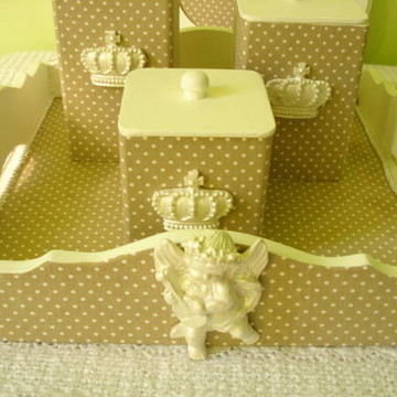 Kit higiene anjos provençais nude