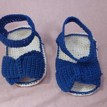 Sandália Crochê Masculina - trançada