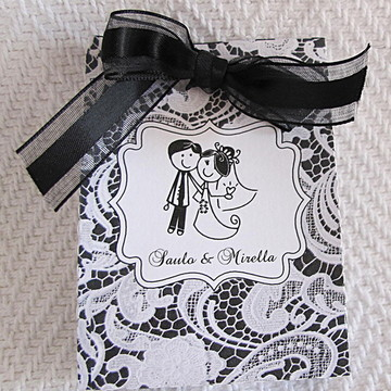 Sacolinha Lembrancinha Casamento