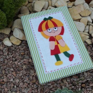 Caderno  da Emília