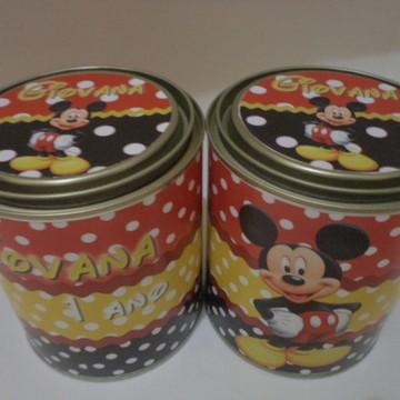 Lata leite Mickey