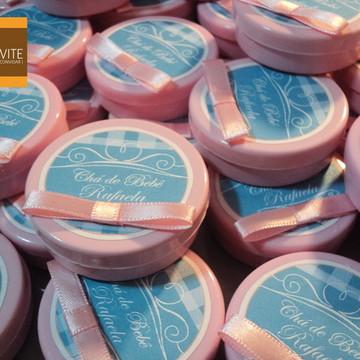 Lembrança Para Chá De Bebê - Mint rosa