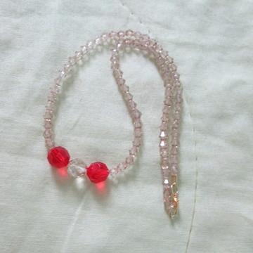 colar cristais