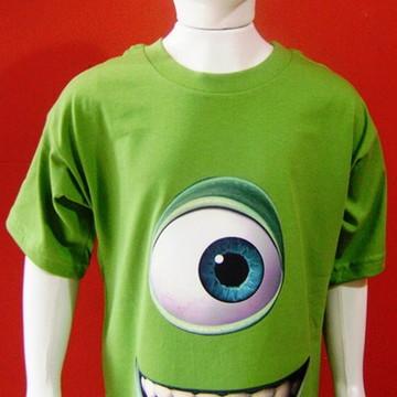 Camiseta Infantil Mike Monstros S/A