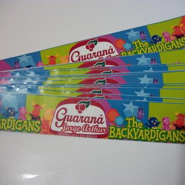 Rótulos Personalizado Para Guarana Backyardigans