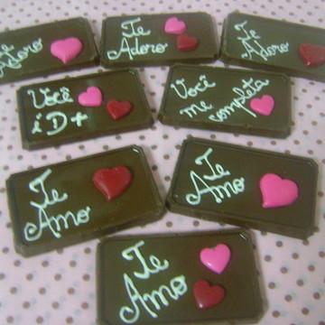 Mensagem de Chocolate