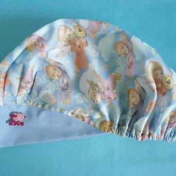 touca cirurgica coleção anjinhos(tec imp