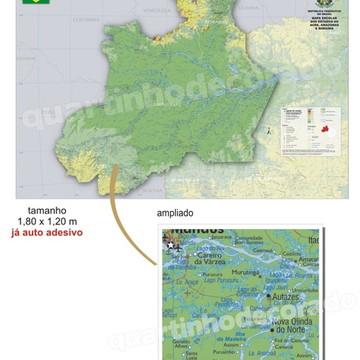 MAPAS DO BRASIL MOD.03 ESTADO RR/AM/AC