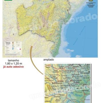 ADESIVO MAPAS DO BRASIL MOD.05 ESTADO BH