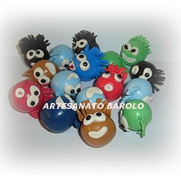 Club Penguin - puffle - enfeite de bolo