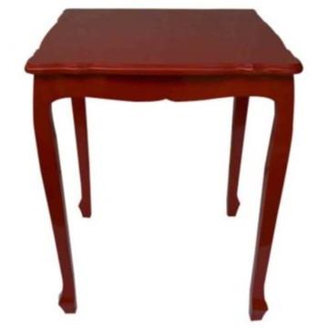 mesa antiga lateral vermelha Ferrara