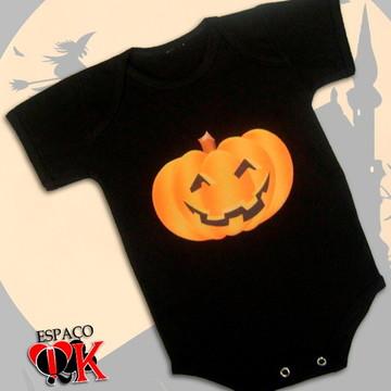 Body p/ Bebê Halloween