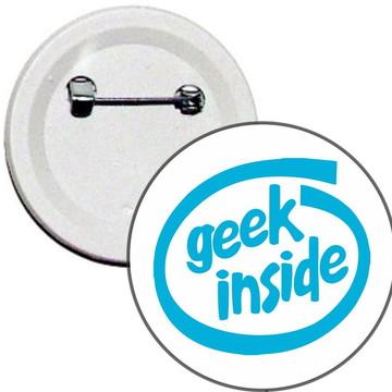 Boton Geek Inside