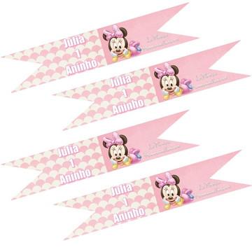 Bandeirinha Sanduíches\docinhos Minnie B