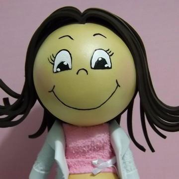 Boneca de EVA - Psicóloga Gestante.