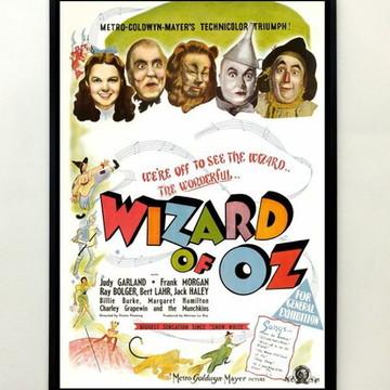 Quadro O Magico De Oz (cartaz)