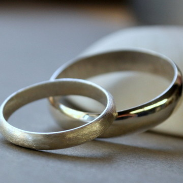 Aliança de noivado.