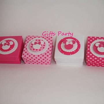 Caixinhas Minnie Rosa Pink Lembrancinhas