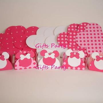 Forminhas Doces Minnie Rosa Pink