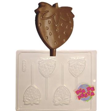 Forma Para Chocolate Morango Código: 156