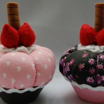 Porta Alfinete Cupcake