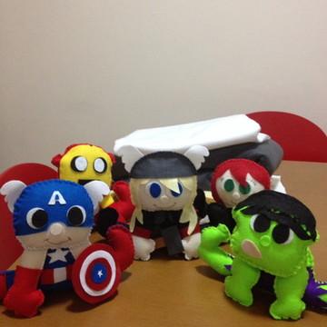 Heróis Vingadores Centro de Mesa