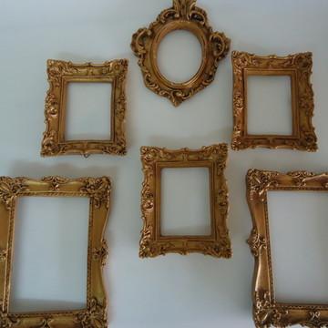 Espelhos ou Porta Retratos em Ouro Velho