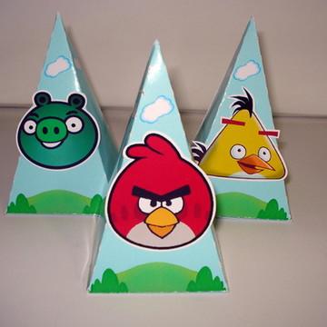 "Caixa pirâmide ""Angry Birds"""