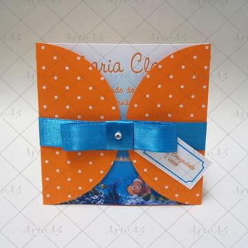 Convite Mini Infantil Procurando Nemo