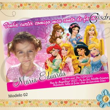 Convite novas Princesas