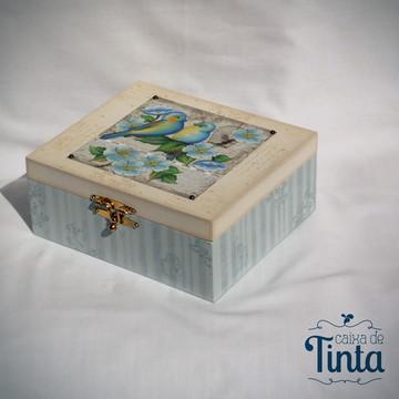Caixa de Joias Passarinhos 2