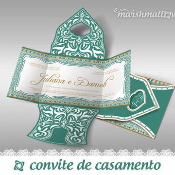Convite de Casamento - Medieval