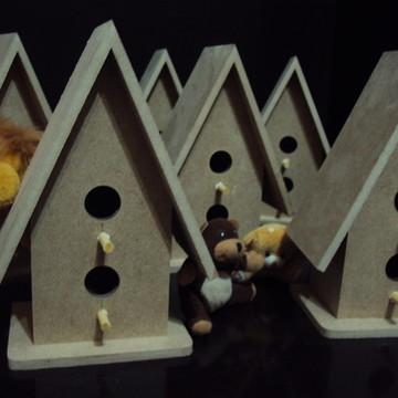 Casinha de passarinho mdf decoração