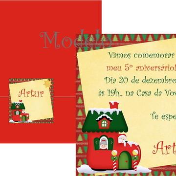 Convite De Aniversário Natal