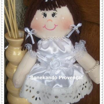 Boneca para daminha