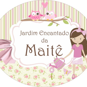 Kit Festa Jardim Encantado
