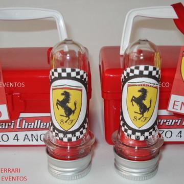 Tubinhos para festa Ferrari
