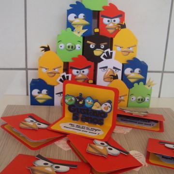 Angry Birds Convite