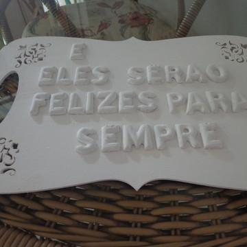 Placa Para A Noiva