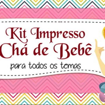 Kit Chá de bebê - Impresso