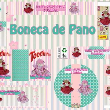 Kit Festa - Boneca De Pano 3