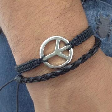Kit pulseiras masculinas
