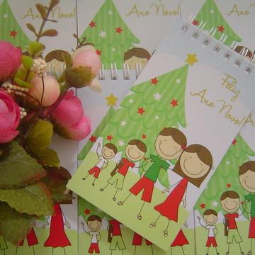 Natal Bloquinho Lembrança de Natal