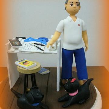 Topo de bolo - Engenheiro Civil