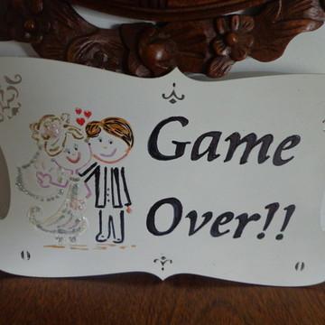 Placa Para Noiva-II