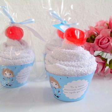 Cupcake de Toalha Pequeno Príncipe