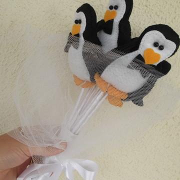 "Buquê de casamento ""Pinguins"""